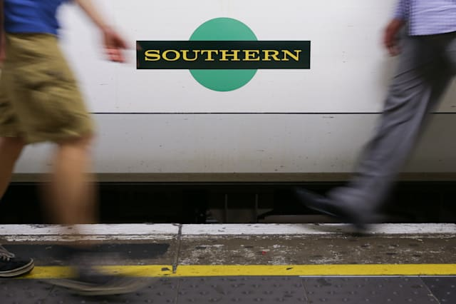 BRITAIN-TRANSPORT-RAIL-STRIKE-SOUTHERN