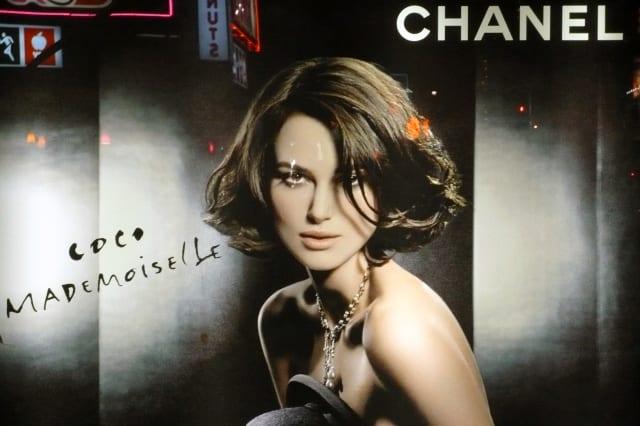 Keira Knightley Chanel Ad Campaign - New York City