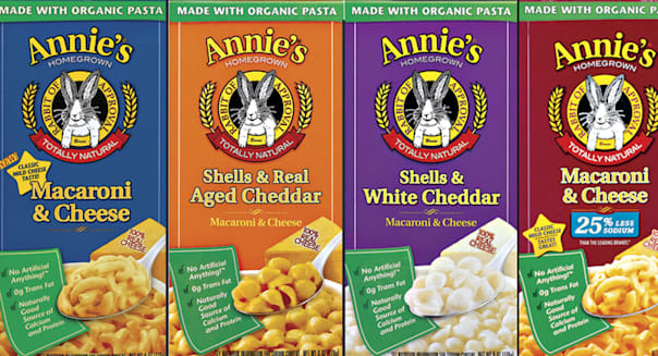 General Mills to buy organic food producer Annie's for $820 mln