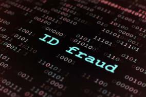C85J5R Id fraud  card; cheat; close-up; fraud; ID; commercial; credit; card; cheat; close-up; commerce; commercial; credit; crim