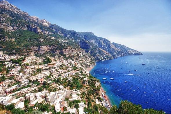 Amalfi Coast sea
