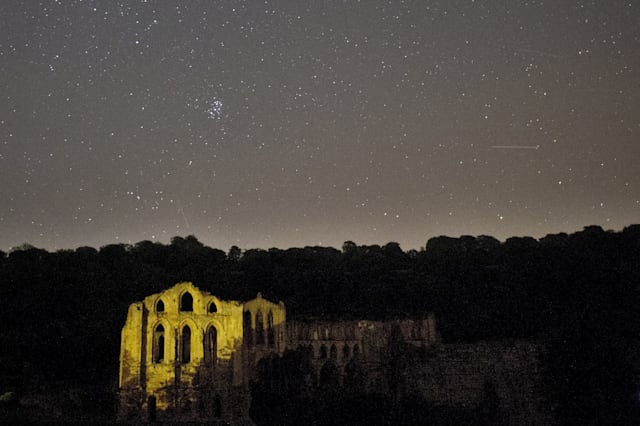 BRITAIN - ASTRONOMY - METEORS - PERSEIDS