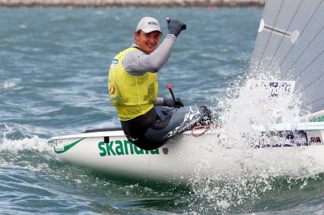 Sailing - 2012 Skandia Sail for Gold Regatta - Day Three - Weymouth
