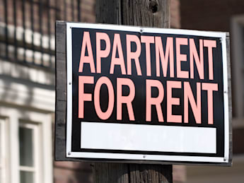 apartment for rent sign in...