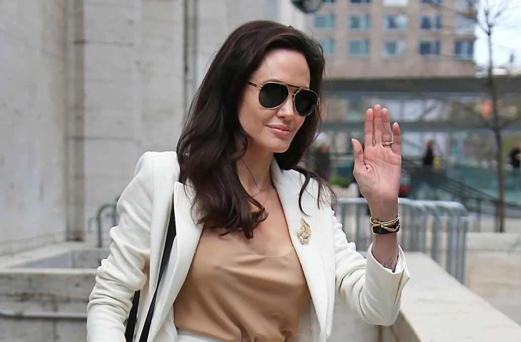 Celebrity Sightings In New York City - April 24, 2015