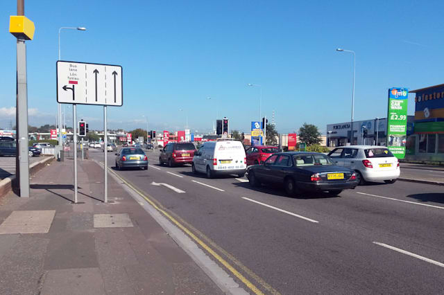 The speed camera on Newport Road, Cardiff, which is thought to be the UK's most prolific after catching out more than 13,000 motorists in just six months and generating more than an estimated £800,000 worth of fines.