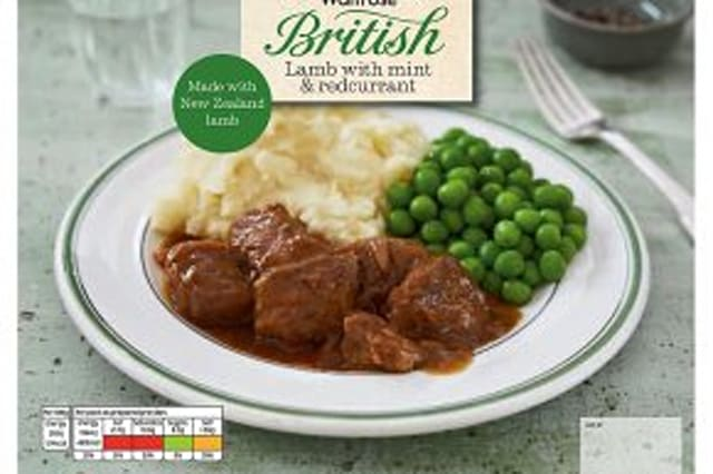 One of the Waitrose ready meals