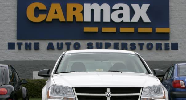 Earns CarMax