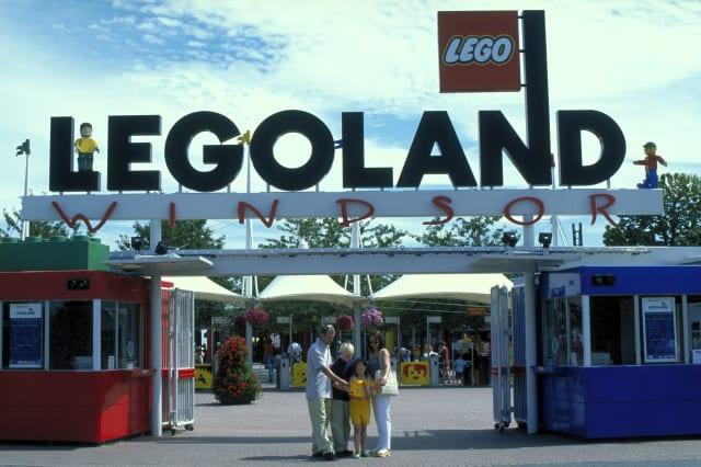 Legoland, Windsor, Berkshire, England.