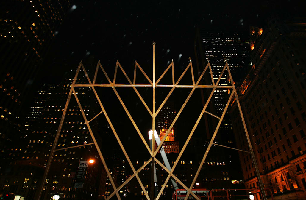'World's Largest Menorah' Lit In New York