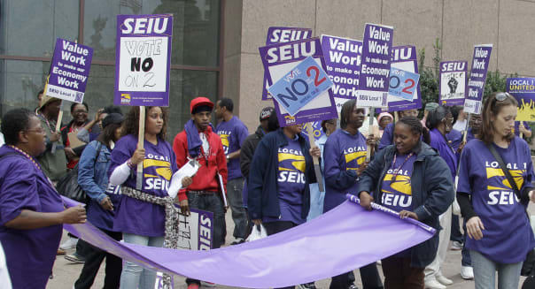 Property Workers Rally