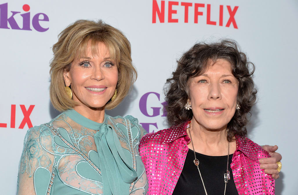 Screening For Netflix's 'Grace And Frankie' Season 3 - Arrivals