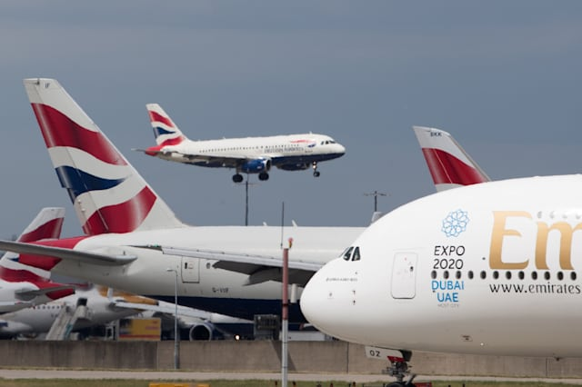 Busiest day in UK's aviation history