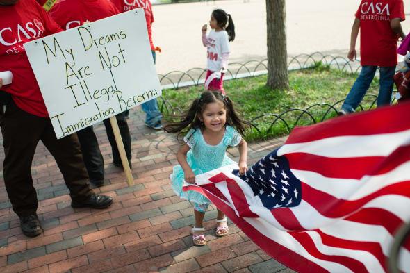 Child immigrants