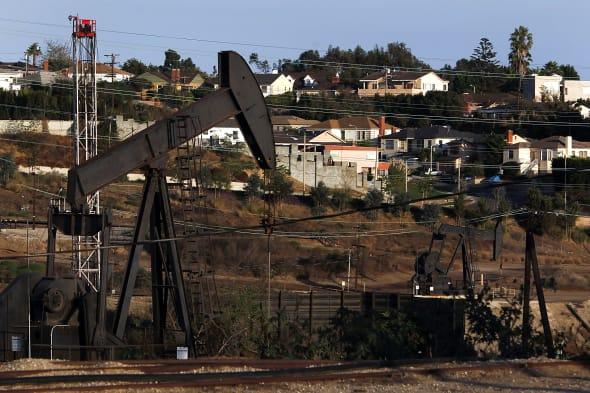 General Views of the Inglewood Oil Field