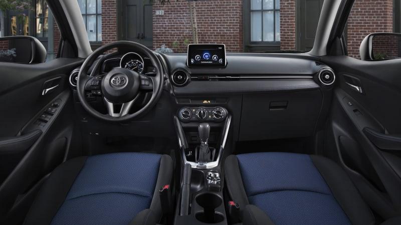 2017 Toyota Yaris iA interior