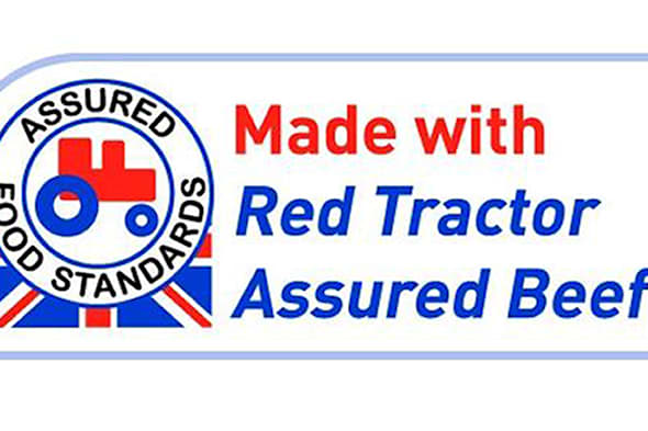 Undated handout photo issued by Red Tractor of their new logo. The food industry is stepping up efforts to reassure shoppers about the origin of their meat in the wake of last year's horsemeat scandal by launching the Red Tractor logo on ready meals. PRESS ASSOCIATION Photo. Issue date: Sunday February 23, 2014. The distinctive red logo, introduced 14 years ago, is only carried on food products that reach certain standards of animal welfare and can be traced back to British farms. See PA story CONSUMER ReadyMeals. Photo credit should read: Red Tractor/PA WireNOTE TO EDITORS: This handout photo may only be used in for editorial reporting purposes for the contemporaneous illustration of events, things or the people in the image or facts mentioned in the caption. Reuse of the picture may require further permission from the copyright holder.