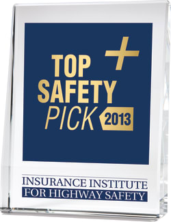IIHS Top Safety Pick + Award