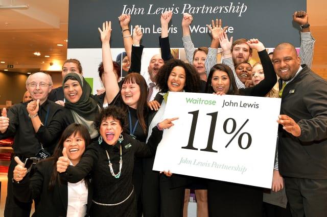 John Lewis bonuses cut to 11%