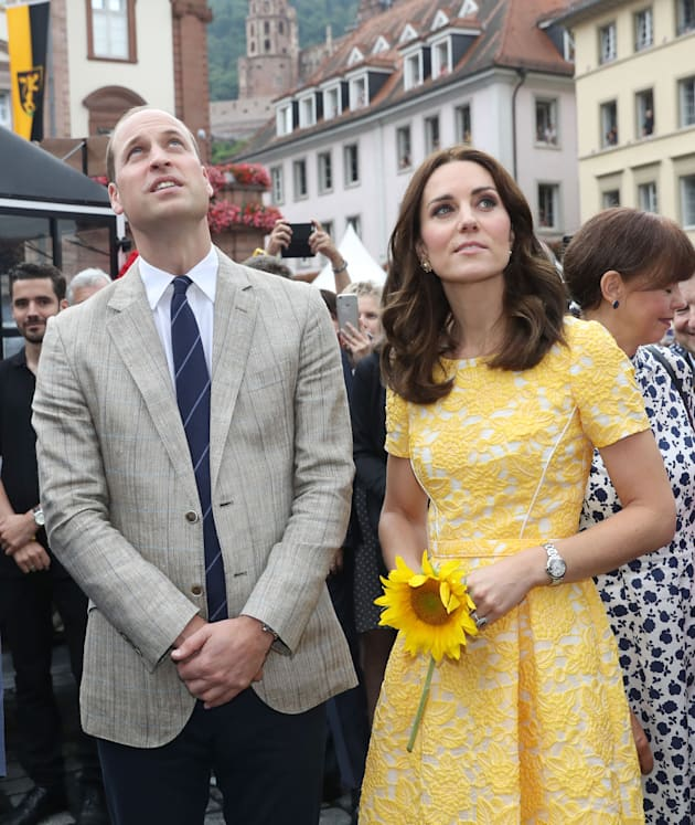 Royal visit to Germany - Day Two