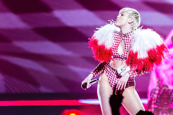 Miley Cyrus In Concert - Columbus, OH