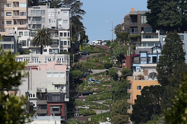 San Francisco's Famed Lombard Street Recoils From Heavy Tourism