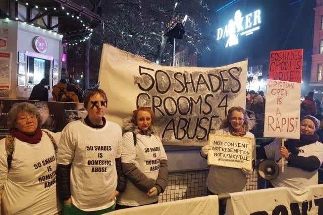 Fifty Shades Darker European Premiere - London