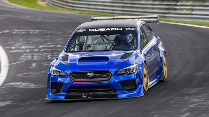 Subaru WRX STI Type RA NBR Special at the Nurburgring