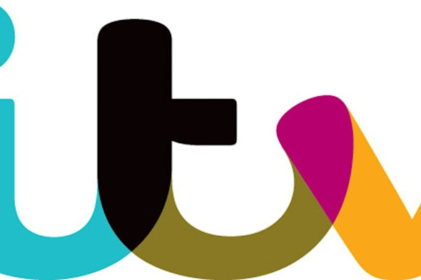 Undated file handout photo issued by ITV of the company's logo, as it posted another big rise in profits as it benefited from the resurgence of its Studios business and a return to growth in television advertising. PRESS ASSOCIATION Photo. Issue date: Wednesday February 26, 2014. In the fourth year of a five-year turnaround plan, chief executive Adam Crozier said ITV had taken