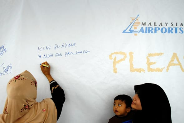 Search Area Expanded For Missing Malaysian Airliner Carrying 239 Passengers