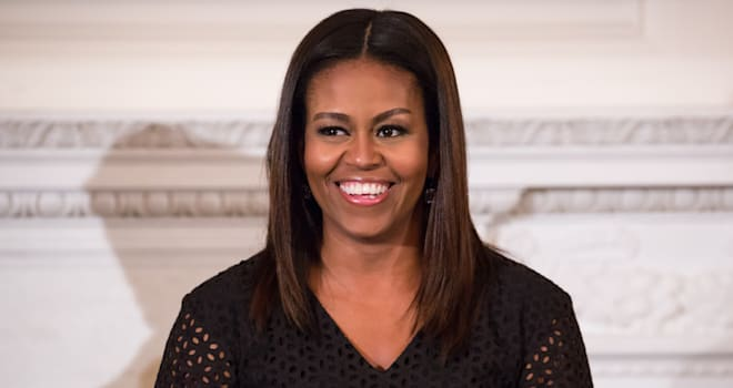 First Lady Michelle Obama Hosts National Student Poets Program With Hip Hop Artist Q-Tip