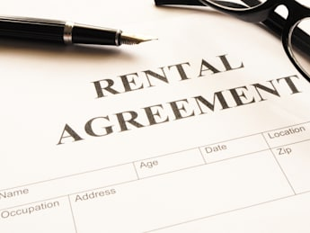 rental agreement form on...