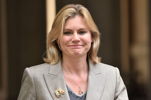 Justine Greening comments