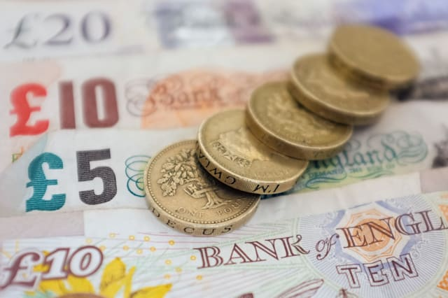 File photo dated 18/09/12 of money, as the UK economy maintained a steady pace of expansion in the first quarter of 2015 and looks set to gather momentum in the current period, according to the latest growth indicator from the CBI. PRESS ASSOCIATION Photo. Issue date: Tuesday April 7, 2015. Its figures suggest that gross domestic product (GDP) grew by 0.7% in the January-March period, slightly up from 0.6% in the last quarter of 2014. See PA story ECONOMY CBI. Photo credit should read: Dominic Lipinski/PA Wire