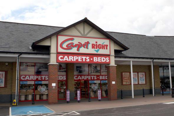 Carpetright UK sales rise