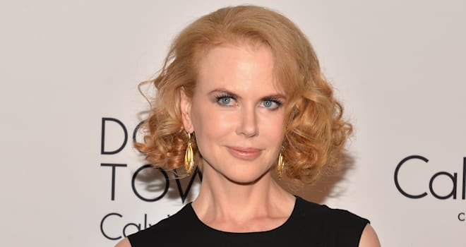 Nicole Kidman at the Calvin Klein Collection Post Show Event During Mercedes-Benz Fashion Week Spring 2014