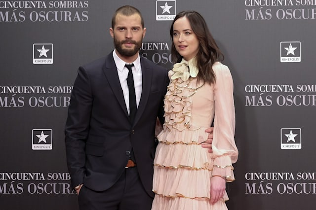 'Fifty Shades Darker' Madrid Premiere