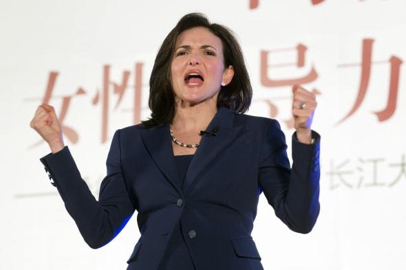 China Facebook Sheryl Sandberg