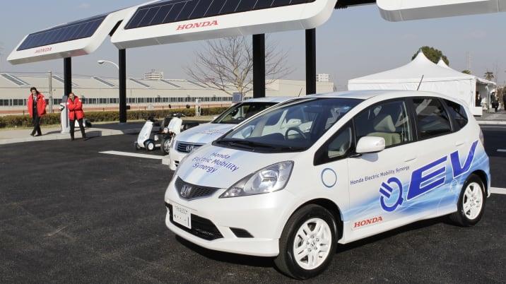 Japan Honda EV Program