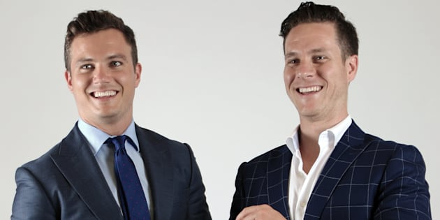 James Wakefield and Robin McGowan started men's suit business InStitchu with no experience in