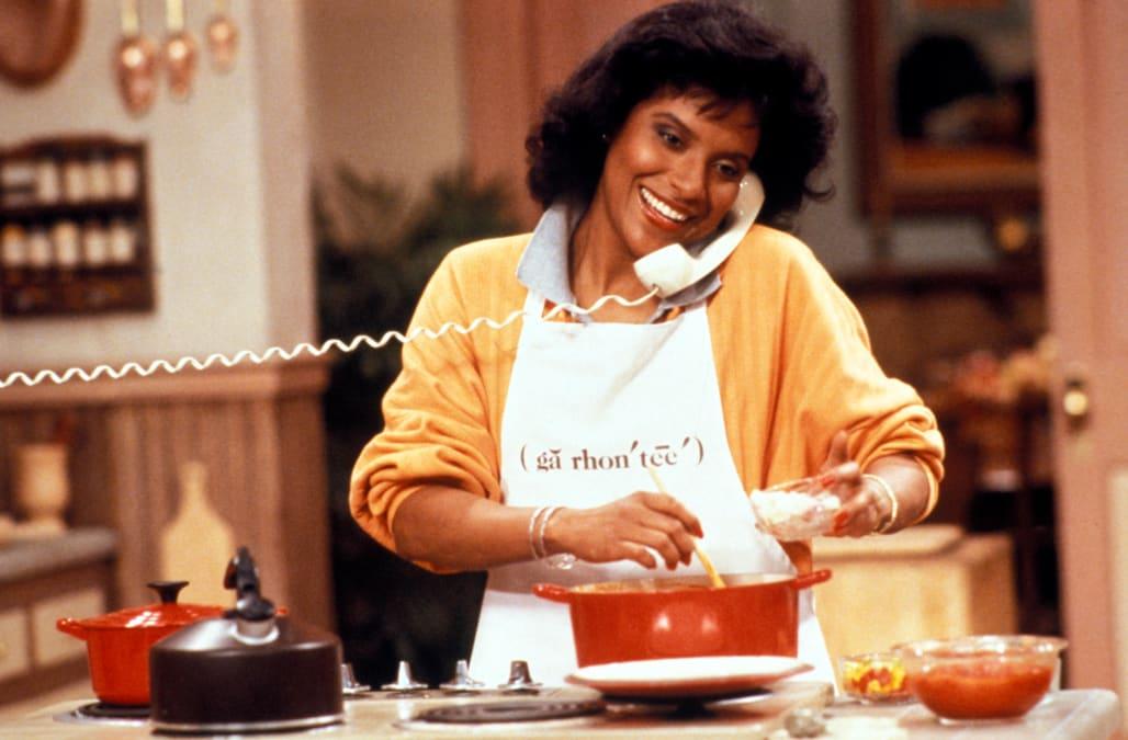 Phylicia Rashad The Cosby Show - Alamy