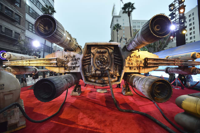 "World Premiere of ""Rogue One: A Star Wars Story"" - Arrivals"
