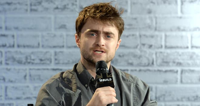Daniel Radcliffe Takes Part In AOL's BUILD Series LONDON
