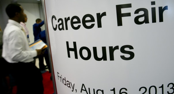 Technology Career Fair Ahead Of Initial Jobless Claims Figures