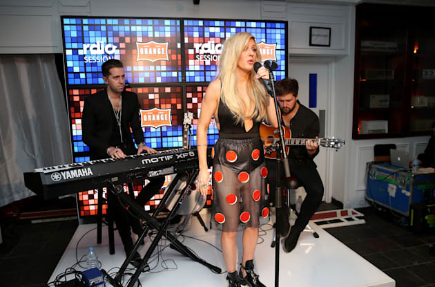 RDIO & TIFF Present Ellie Goulding At RDIO House On King Street - 2014 Toronto International Film Festival