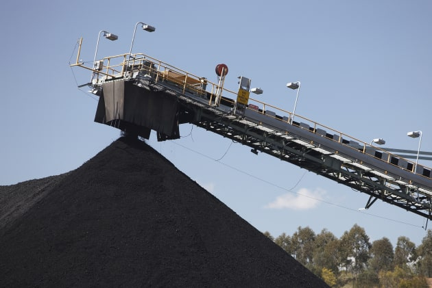 The great pyramid of coal