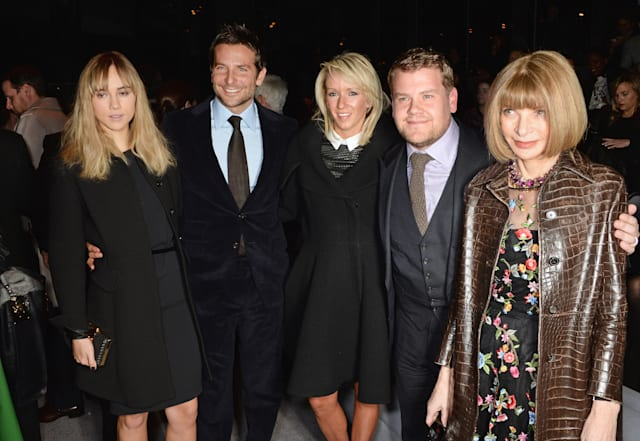 TOM FORD: Front Row - London Fashion Week AW14