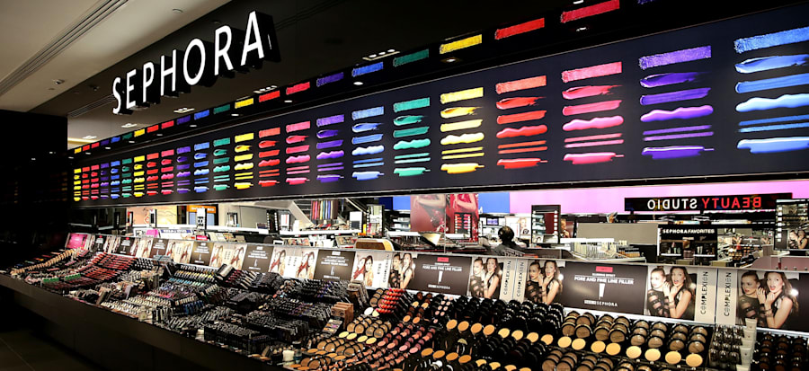 The First Australian Sephora store in Westfield Pitt Street Mall,