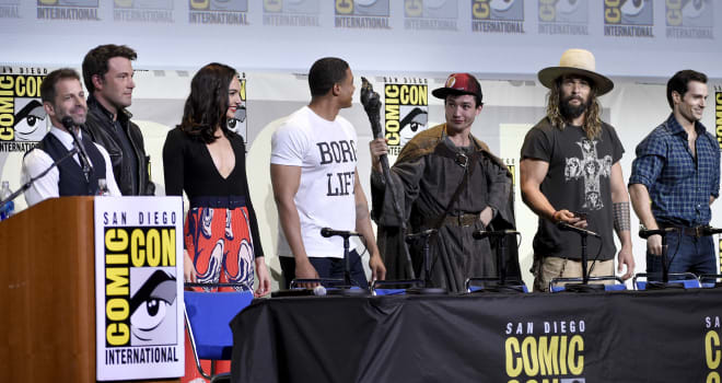 """2016 Comic-Con - """"Warner Bros. Pictures"""" Panel"""