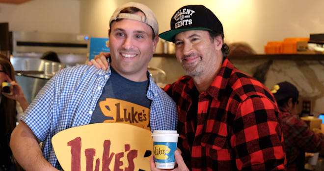 'Luke's Diner Day' at Kavarna Coffeehouse in Green Bay